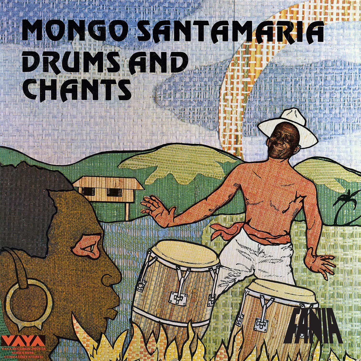 "Featured image for ""Mongo Santamaria  ‎–  Drums And Chants (Authentic Afro-Cuban Rhythms)"""